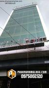 Dự án mặt dựng kính cho ngân hàng TPBANK xô viết nghệ tĩnh