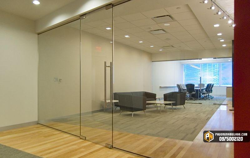 cửa đi một cánh bản lề sàn cho văn phòng