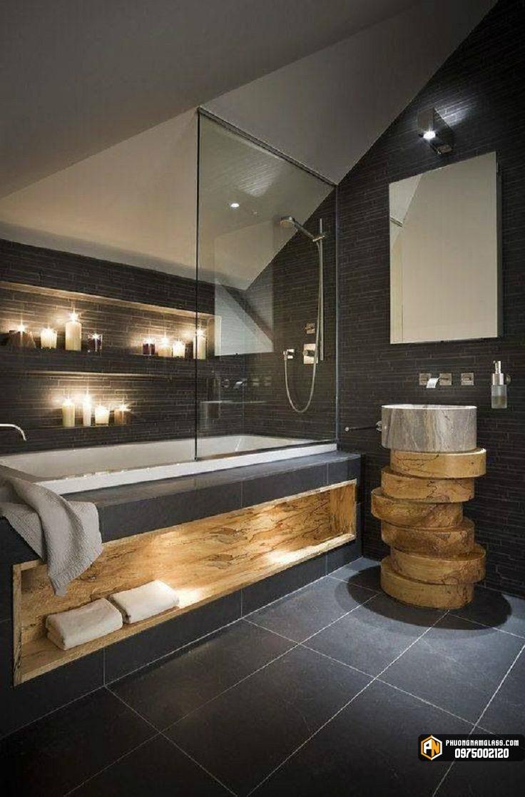 Thiết kế phòng tắm kính tuyệt vời hơn