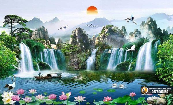 Tranh 3d Phong Thủy